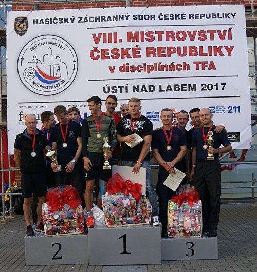 Osmý ročník mistrovství České republiky v disciplínách TFA v Ústí nad Labem