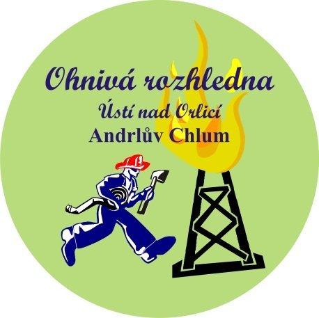 Ohnivá rozhledna Ústí nad Orlicí Andrlův Chlum