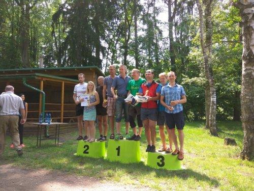 Výsledky XXIV. ročníku přeboru profesionálních hasičů, Policie ČR a zaměstnanců MV v orientačním běhu 2017